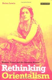 Cover of: Rethinking Orientalism (Library of Ottoman Studies)