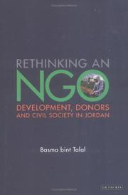 Cover of: Rethinking and NGO | Basma bint al-Talal