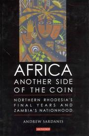 Cover of: Africa: Another Side of the Coin | Andrew Sardanis