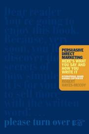 Cover of: Persuasive Direct Marketing