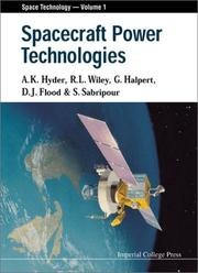 Cover of: Spacecraft power technologies |