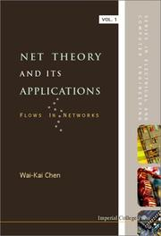 Cover of: Net theory and its applications: flows in networks