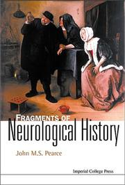 Cover of: Fragments of Neurological History (Neurology Series) | John Pearce