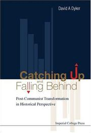 Cover of: Catching Up and Falling Behind | David A. Dyker