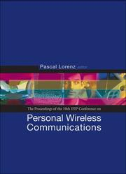 Cover of: Personal Wireless Communications