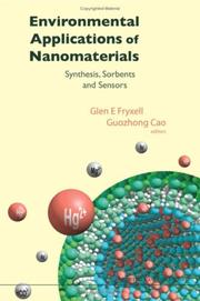 Cover of: Environmental applications of nanomaterials
