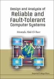 Cover of: Design And Analysis of Reliable And Fault-tolerant Computer Systems