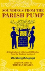 Cover of: Soundings from the Parish Pump | Tristan Davies