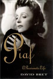 Cover of: Piaf