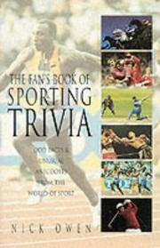 Cover of: The Fan's Book of Sporting Trivia