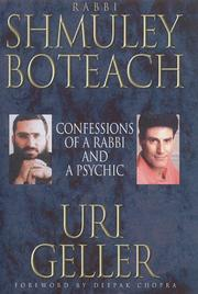 Cover of: CONFESSIONS OF A RABBI AND PSYCHIC