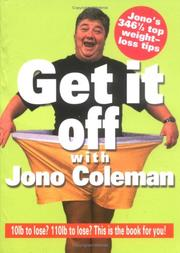 Cover of: Get It Off with Jono Coleman