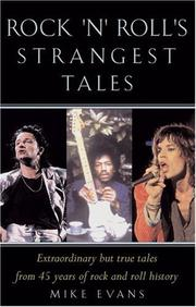 Cover of: Rocks Strangest Tales (Strangest S.) | Mike Evans