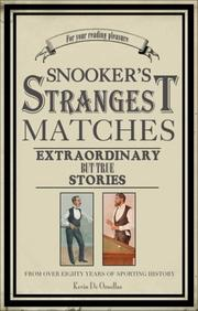 Cover of: Snooker's Strangest Matches (Strangest)