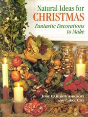 Cover of: Natural ideas for Christmas