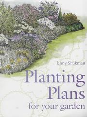 Cover of: Planting Plans for Your Garden