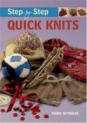 Cover of: Step-by-Step Quick Knits (Step-By-Step (Guild of Master Craftsman Publications))