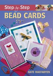 Cover of: Step-by-Step Bead Cards (Step-By-Step (Guild of Master Craftsman Publications))