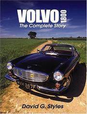 Cover of: Volvo 1800  | David G Styles