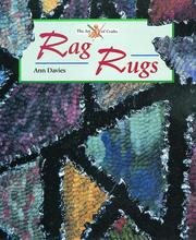 Cover of: Rag Rugs (The Art of Crafts)