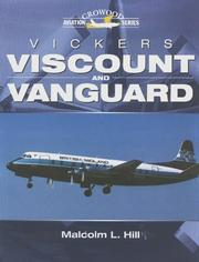 Cover of: Vickers Viscount and Vanguard (Crowood Aviation Series)