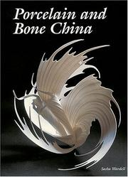 Cover of: Porcelain and Bone China