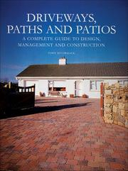 Cover of: Driveways, Paths and Patios