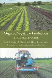 Cover of: Organic Vegetable Production