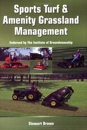 Cover of: Turf and Amenity Grassland Management