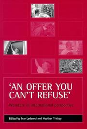Cover of: 'An offer you can't refuse' by
