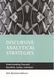 Cover of: Discursive Analytical Strategies