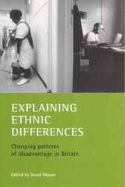 Cover of: Explaining ethnic differences