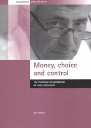Cover of: Money Choice and Control | Sue Arthur