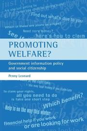 Cover of: Promoting welfare? | Penny Leonard