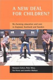 Cover of: A New Deal for Children? | Bronwen Cohen