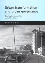 Cover of: Urban Transformation and Urban Governance