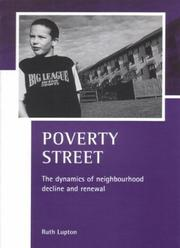 Cover of: Poverty street | Ruth Lupton
