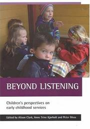 Cover of: Beyond Listening |