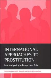 Cover of: International Approaches to Prostitution |