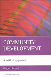 Cover of: Community Development: A Critical Approach