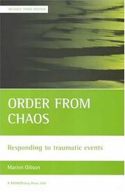 Cover of: Order from Chaos | Marion Gibson