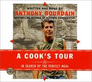 Cover of: Cook's Tour CD, A: In Search of the Perfect Meal