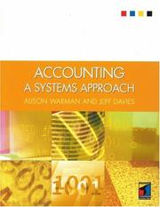Cover of: Accounting | Alison Warman
