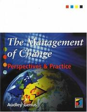 Cover of: The Management of Change