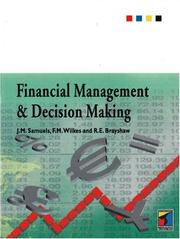 Cover of: Financial management and decision making