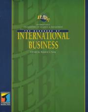 Cover of: The IEBM Handbook of International Business | Rosalie L. Tung