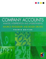 Cover of: Company Accounts | Maurice Pendlebury