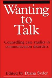 Cover of: Wanting to talk |