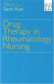 Cover of: Drug Therapy in Rheumatology Nursing | Sarah Ryan