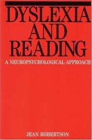 Cover of: Dyslexia and Reading